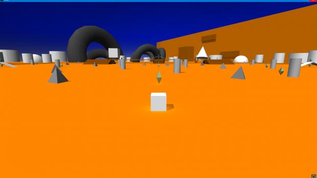 Demo Level Screenshot