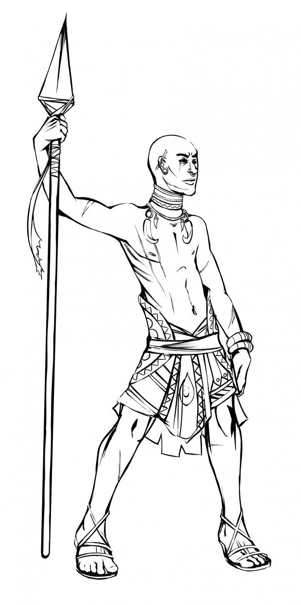 Classes - Rhamka Tribal Warrior