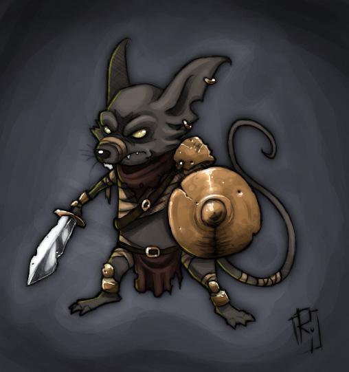 Dwarf Quest - Ratman
