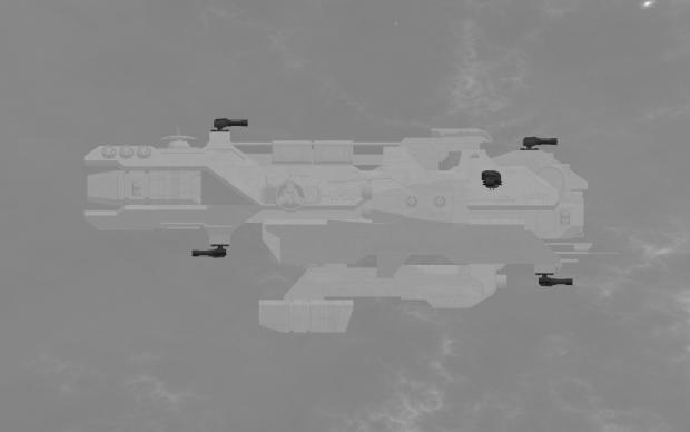 Kite class frigate - Weapon Hardpoints
