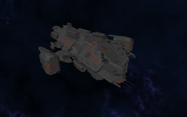 Kite class frigate - front-side view