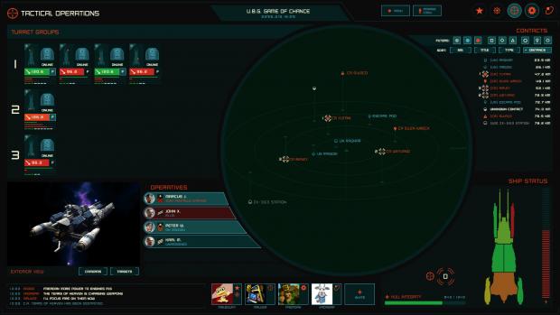 Tactical Ops Role UI (Work in Progress)