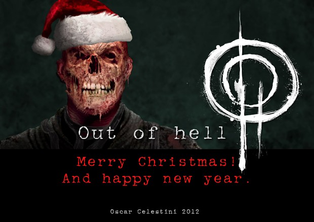 Out of hell merry Christmas!