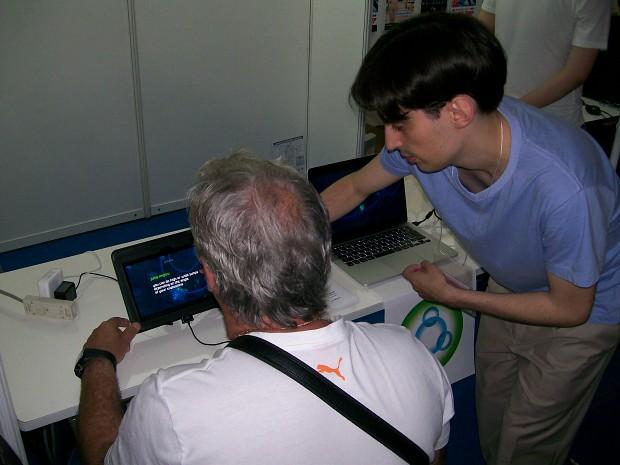 Quark Storm at Tokyo Game Show 2014
