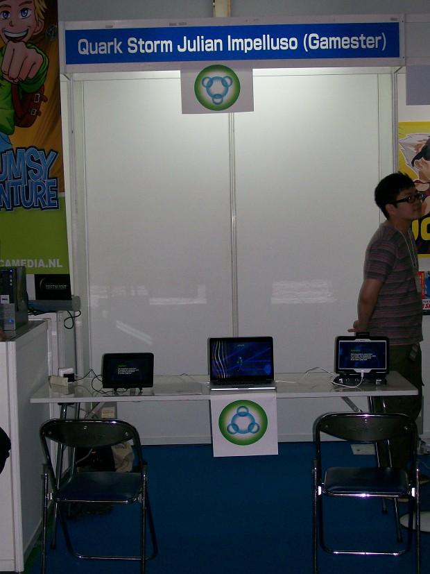 Quark Storm at Tokyo Game Show 2014 (cont.)