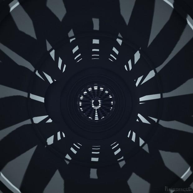 Rotating hole