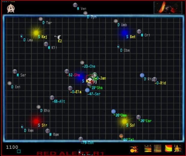 Federation long range scanner