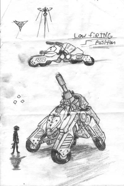Legion Tank Concept