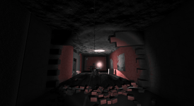 Psychotic Test Room, Looking From The Secret Room