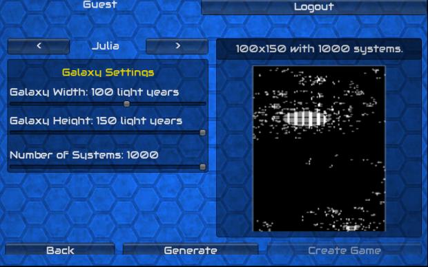 Julia Generator for Galactic Usurper