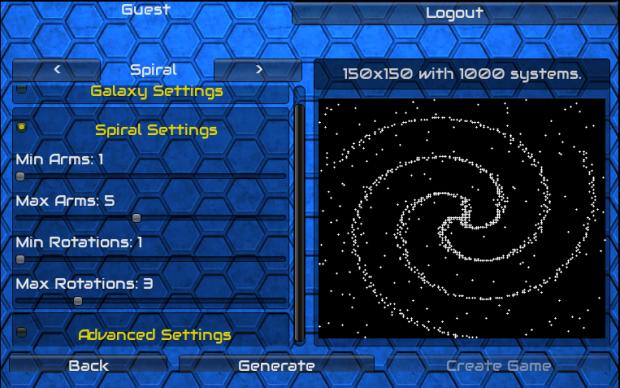 Galaxy Generator - Spiral