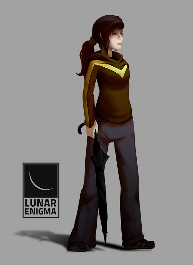 First Character Concept Illustration