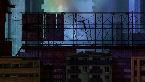 Demo Scene Cityscape