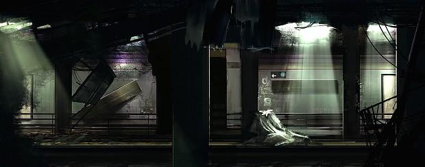 Overgrown Subway WIP