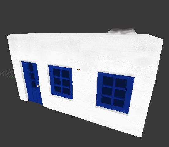 Greek Building Asset 1
