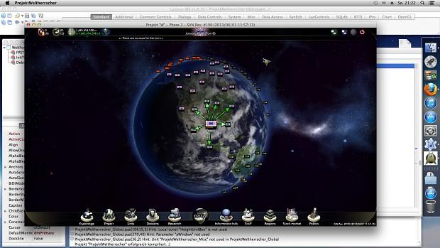 First Mac OSX build