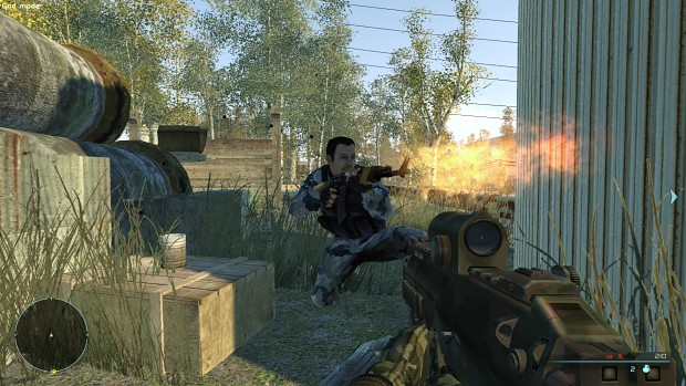 Chernobyl Commando action screenshot