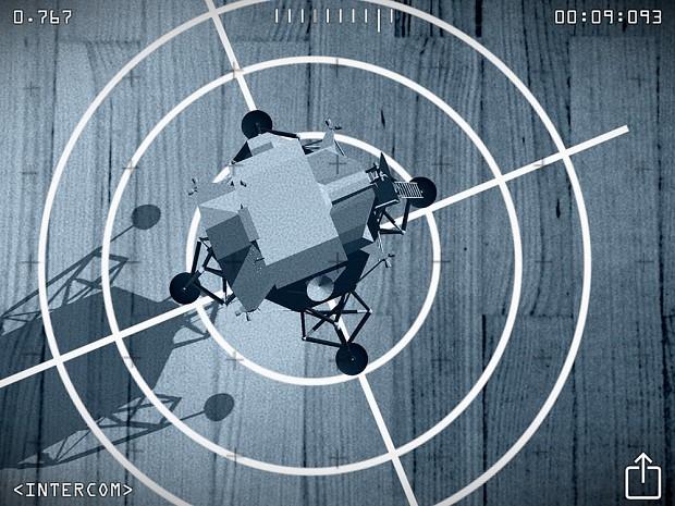 Moon Race - iPad - Indoor landing