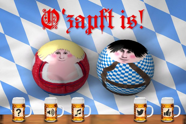O'zapft is! (It's tapped!)