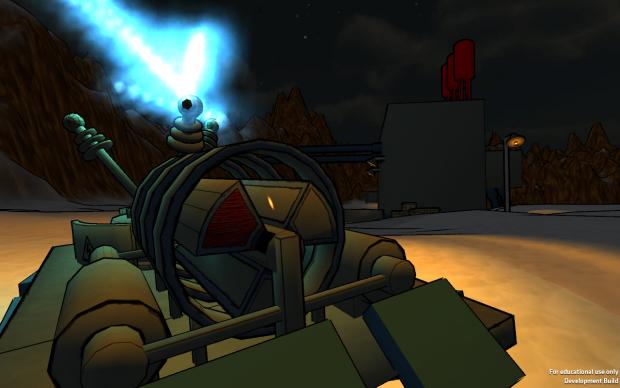 Progress of the new Tesla Cannon image - Mini Tank Battles