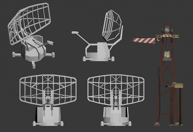 Radar work in progress