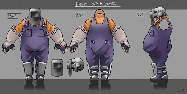 Heavy worker concept