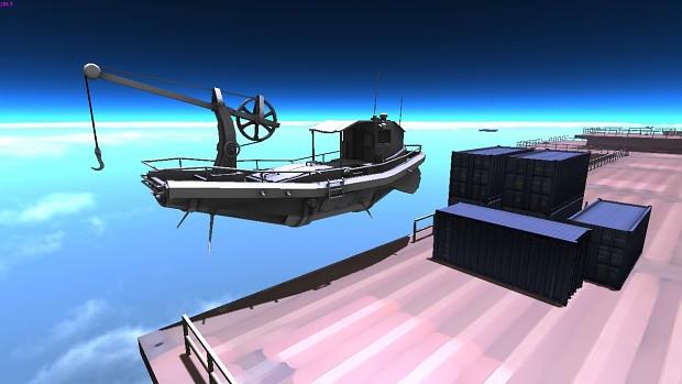 Trade ship test