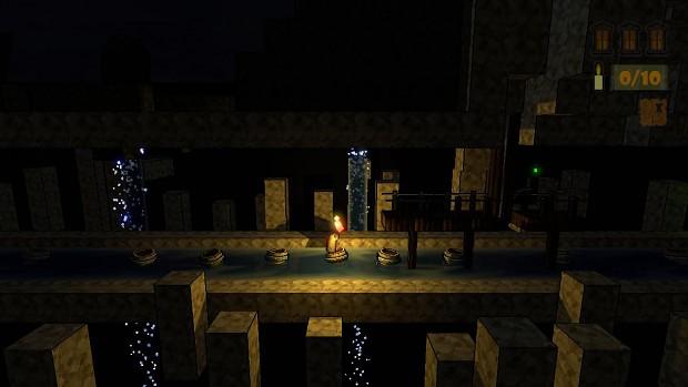 Candlelight - Riding River Barrels...