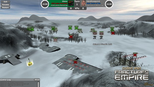 EW:FE Alpha screenshots showing formation icons