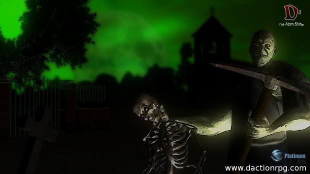 Coming 2014 D. Atom Shifter Zombie Alert !