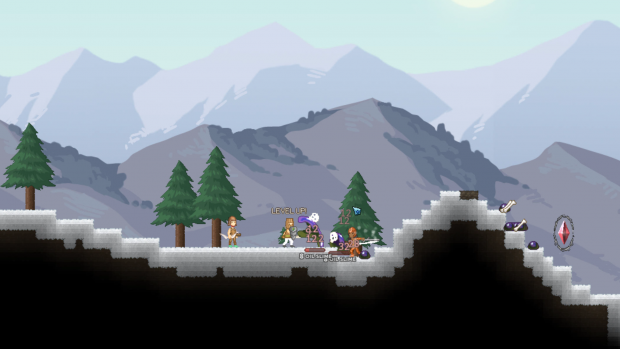 Battle in the Snowy mountains