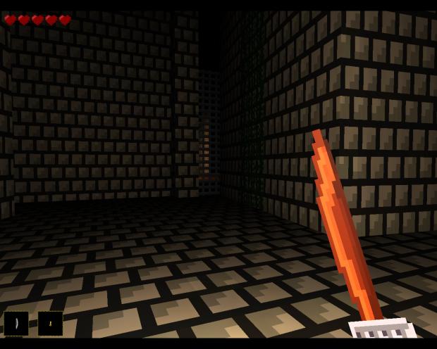 pixel loot Raiders - Dungeon screenshot / Mini Log