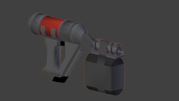 Gauss Nailgun Render