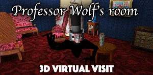 V.reality visit of the Professor Wolf's room