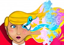 In game artwork
