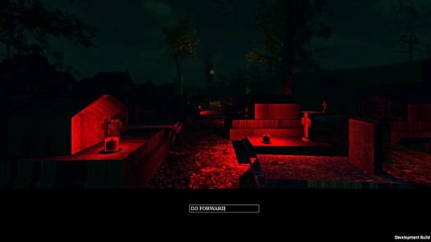 First cemetery screenshot