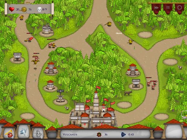 Rush on Rome - inGame Screenshots