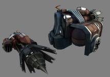 The ship model