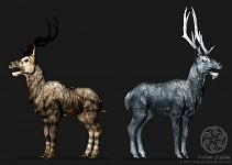 Deer Model Sculpts