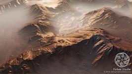 Abandoned Mining Base mountains - in progress
