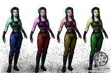 Mystery Race Females - Concept