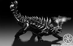 Smokescreen Ankylosaur concept