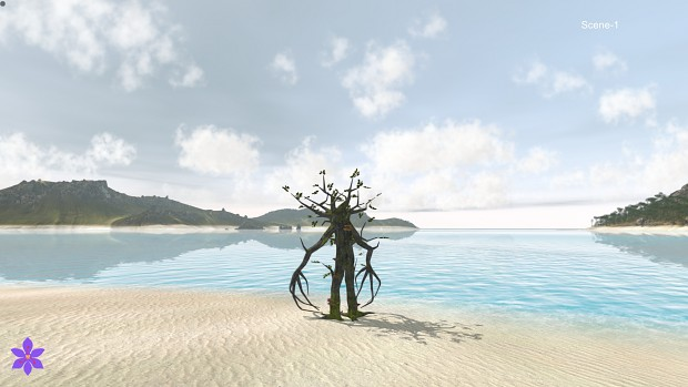 New water areas in the latest alpha