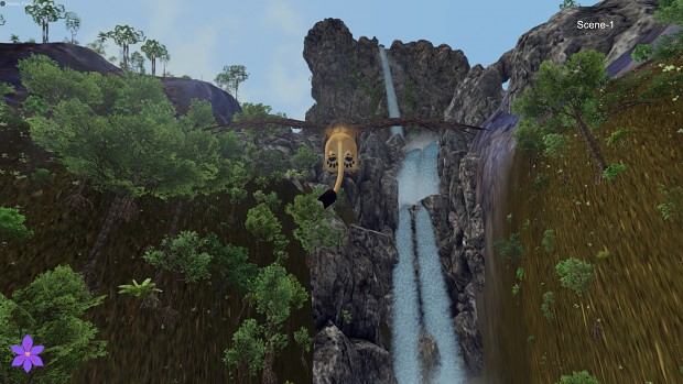 Improved Waterfalls, lakes, caves
