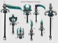 Ancient Weapon Set Concept