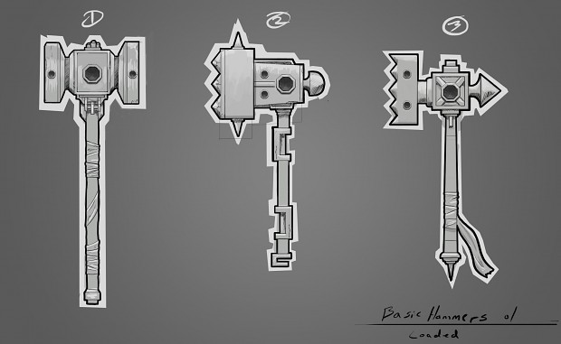 Default Hammer Concept Art