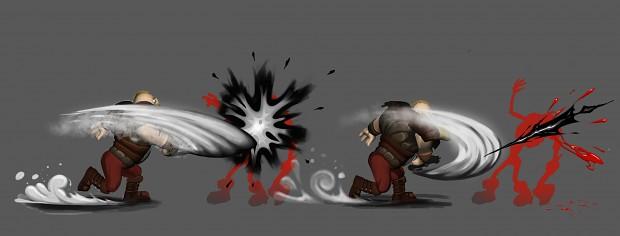 Drykkur Combat Concept Image
