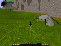 tents and terrain