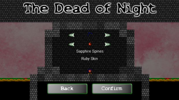 The Dead of Night Character Customisation