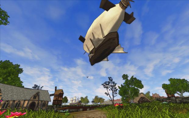 Airship over Kyrt